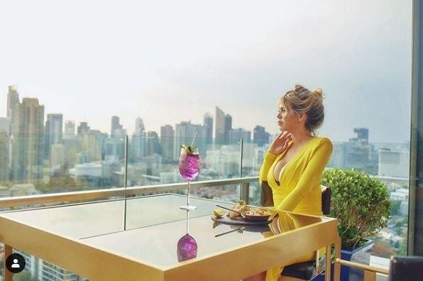wanda-nara-vestido-amarillo-tailandia-fotos-instagram-video-viaje-Tailandia