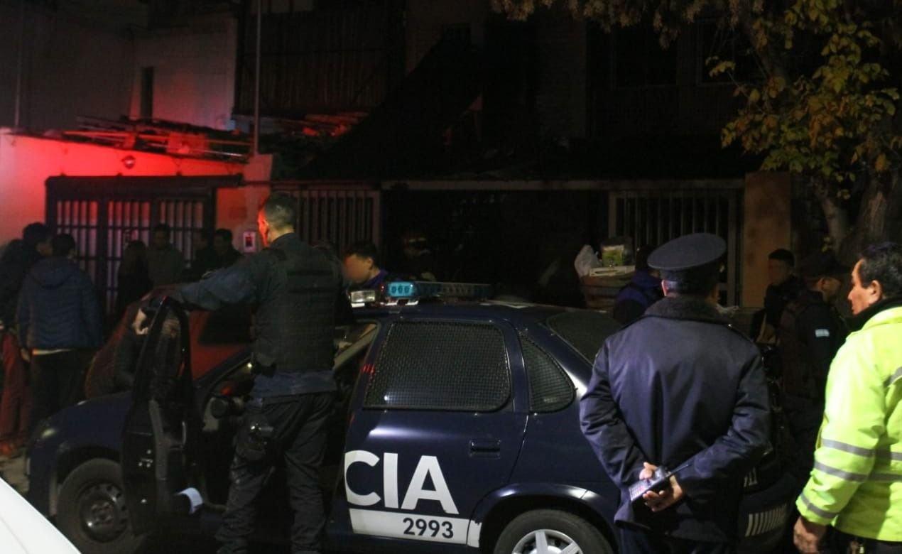 Mendoza | Dos policías acabaron heridos luego de una intensa persecución