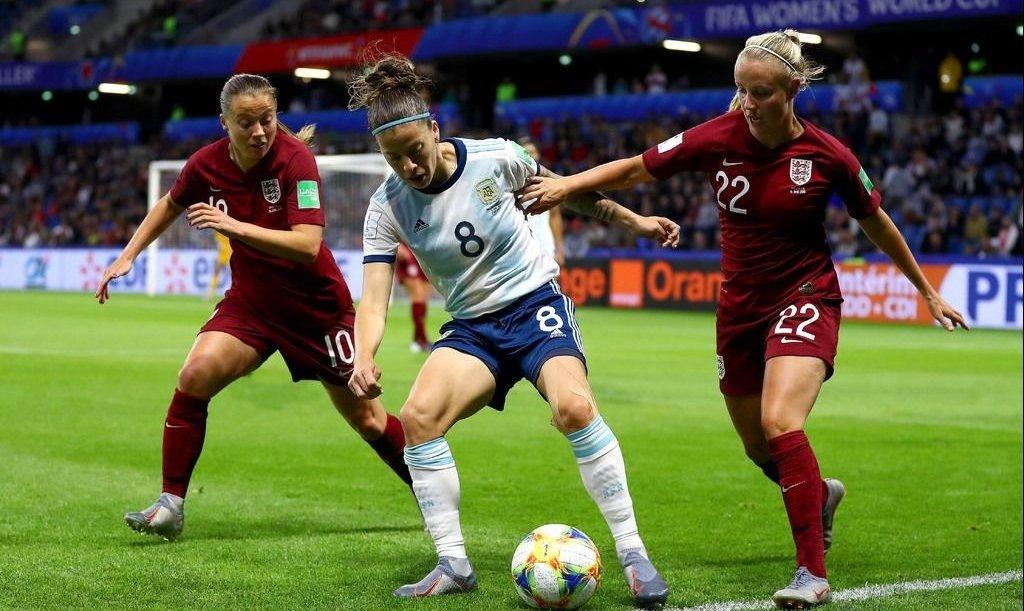 Mundial de fútbol femenino: Argentina cayó frente a Inglaterra