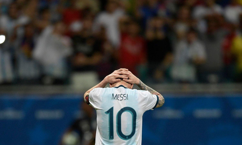 Copa América: la Selección argentina cayó con Colombia en un flojísimo debut