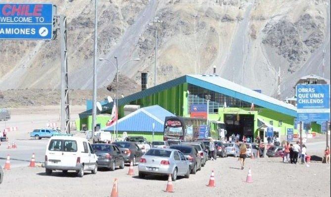 Cerraron el paso a Chile por el ingreso de un nuevo frente frío