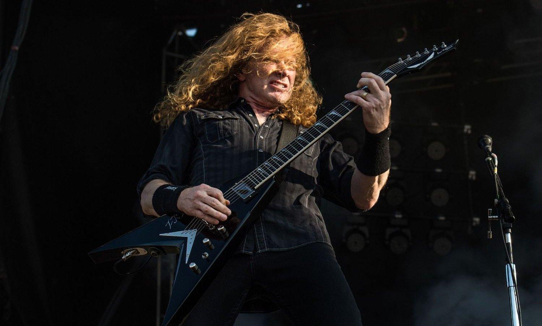 Dave Mustaine tiene cáncer y canceló el show de Megadeth en Argentina
