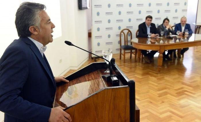 Cornejo anunció cuatro importantes obras para la provincia