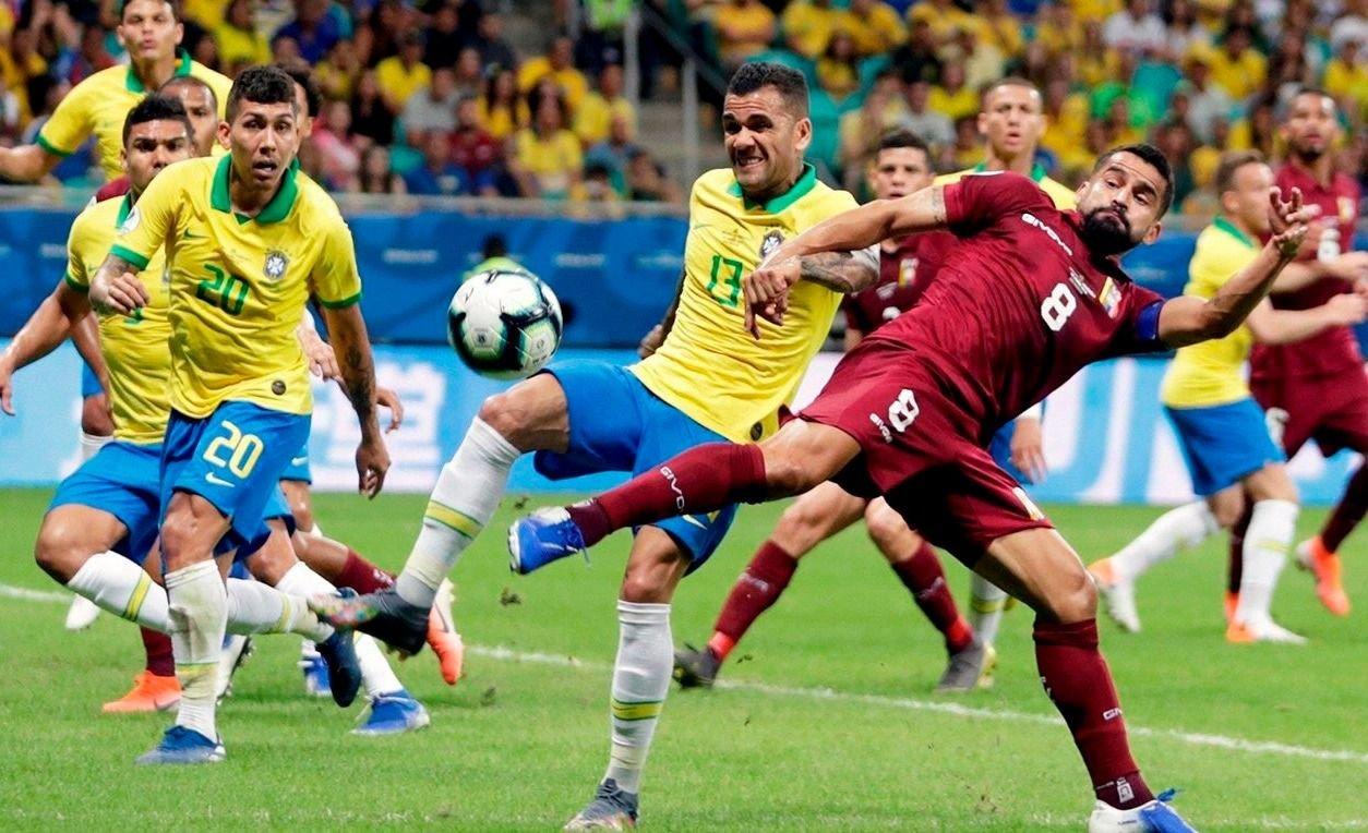 Con el Var como protagonista, Brasil y Venezuela igualaron sin goles