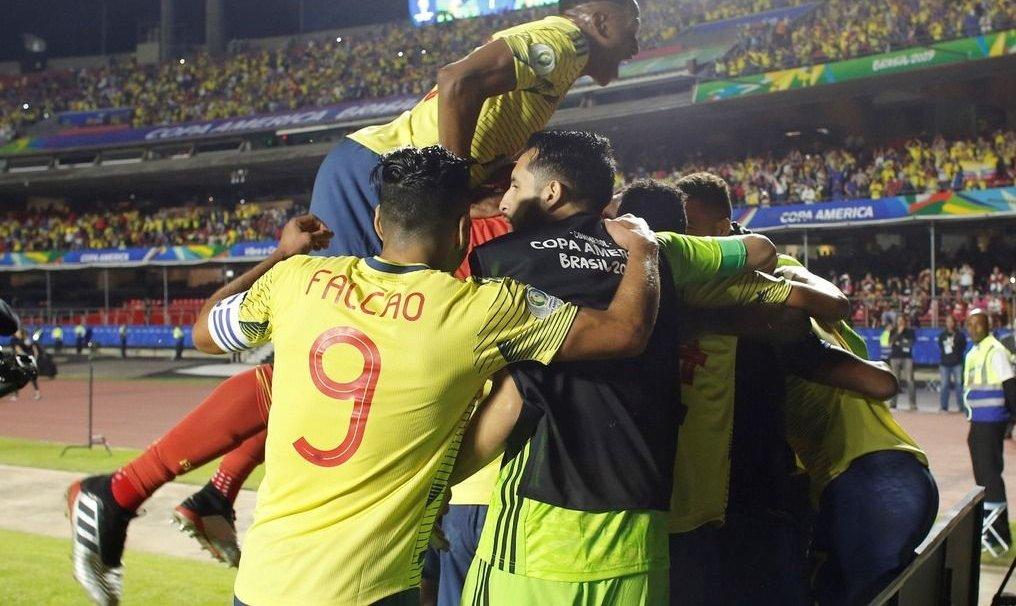 Colombia le ganó 1 a 0 a Qatar y es el primer clasificado a cuartos de final