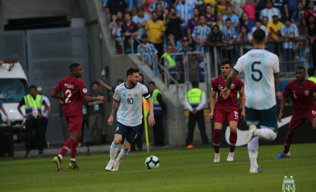 seleccion argentina qatar copa america grupo B lionel scaloni lionel messi