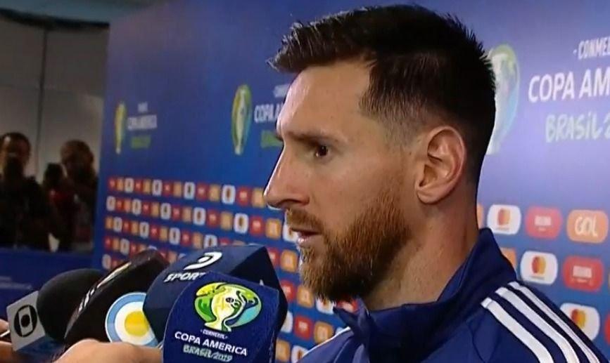 """Lionel Messi: """"Ahora empieza otra Copa"""""""