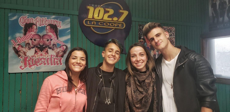 Antes del show en Mendoza, Adexe & Nau en La Coope