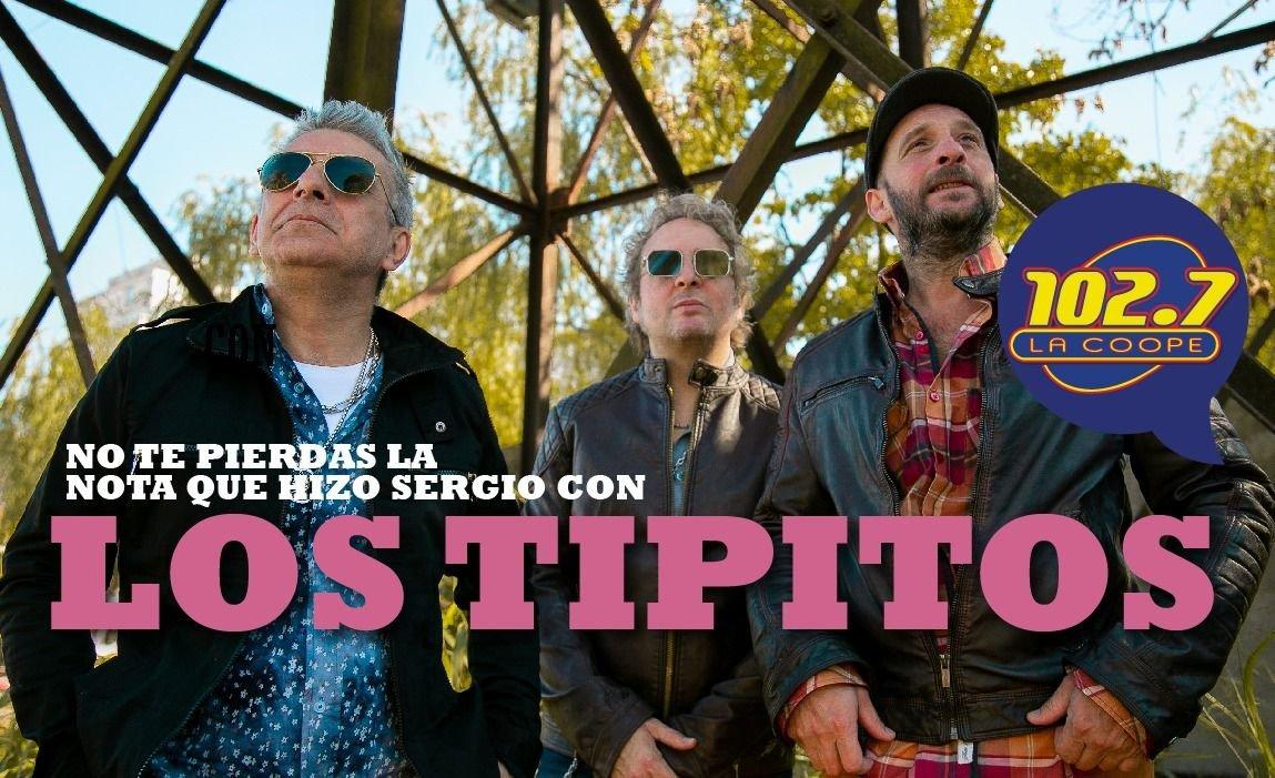 """ENTREVISTA   LOS TIPITOS: """"Extrañamos ver pasar la ruta por nuestros ojos"""""""