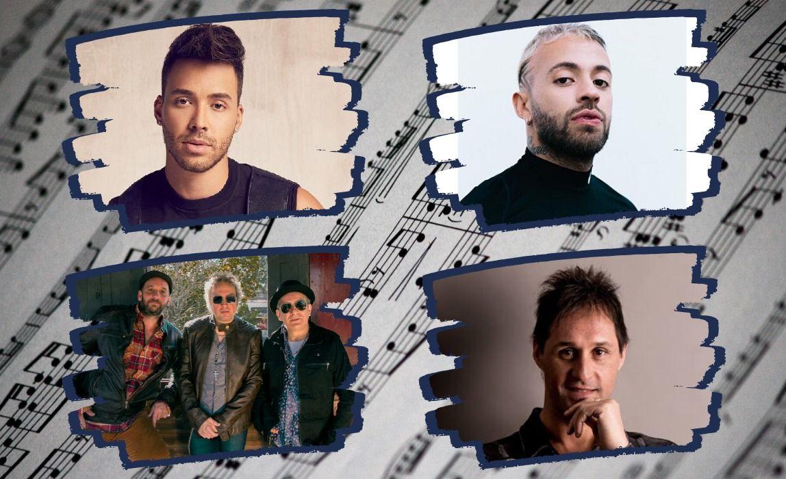 MÁS ENTREVISTAS EN LA COOPE: Los Tipitos, Prince Royce,Feid y Fabricio Rodriguez