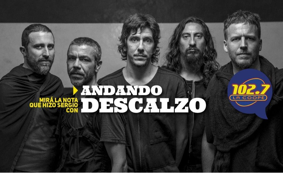 """ENTREVISTA   Andando Descalzo: """"La banda jamás hizo 35 canciones para un disco, hasta ahora"""""""
