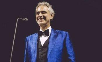 EURO 2020: Andrea Bocelli cantará en la ceremonia oficial