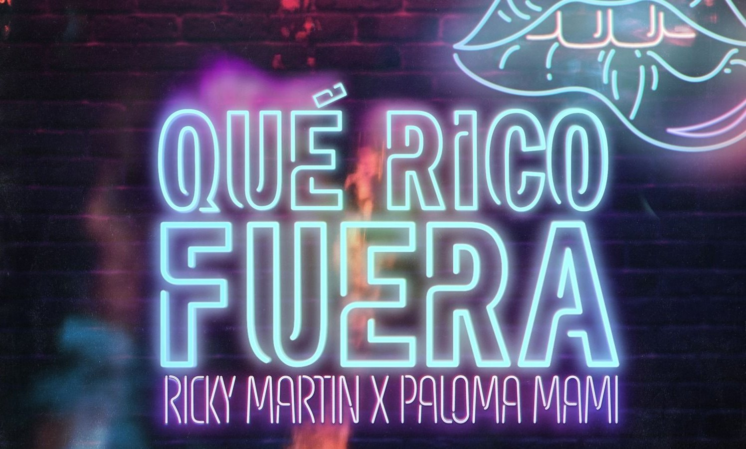 """Ricky Martin junto a Paloma Mami presentaron: """"Que rico fuera"""""""