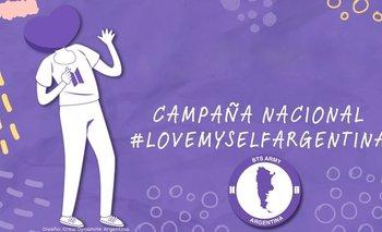 Love Myself, la campaña solidaria del ARMY argentino