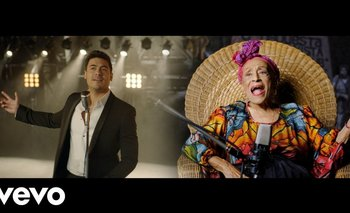 """Carlos Rivera canta """"Lágrimas Negras"""" junto a Omara Portuondo"""