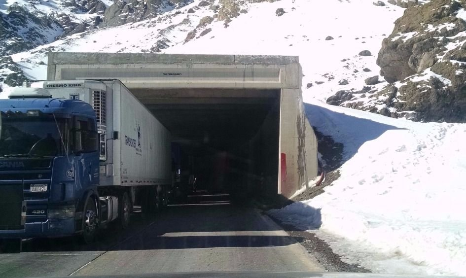 Por arreglos en el túnel Cristo Redentor modifican el horario de circulación