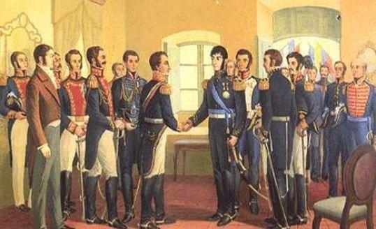 Cómo se celebró la Independencia en Mendoza