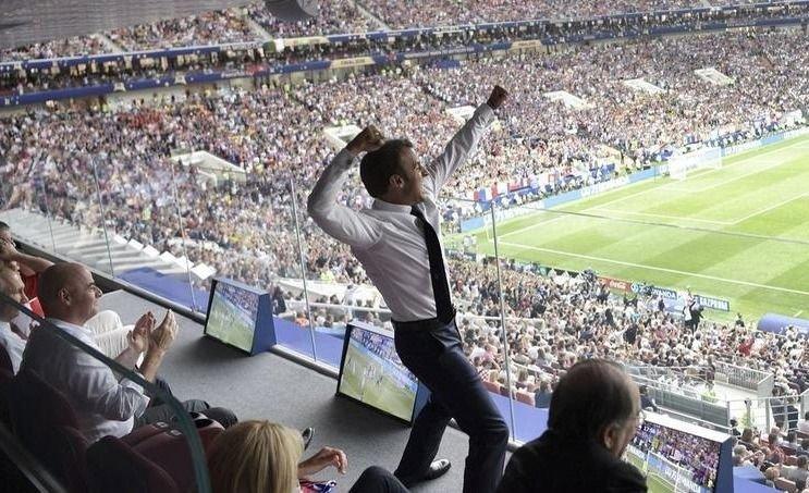 El partido aparte que vivió el presidente francés Emmanuel Macron