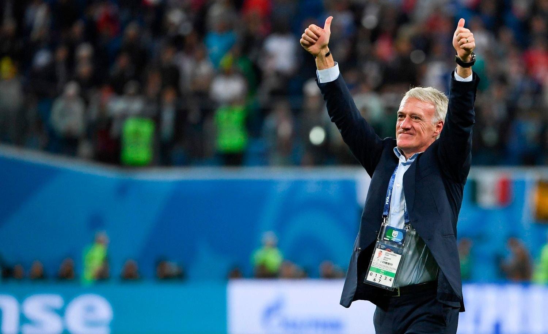Deschamps entró en la historia del fútbol francés