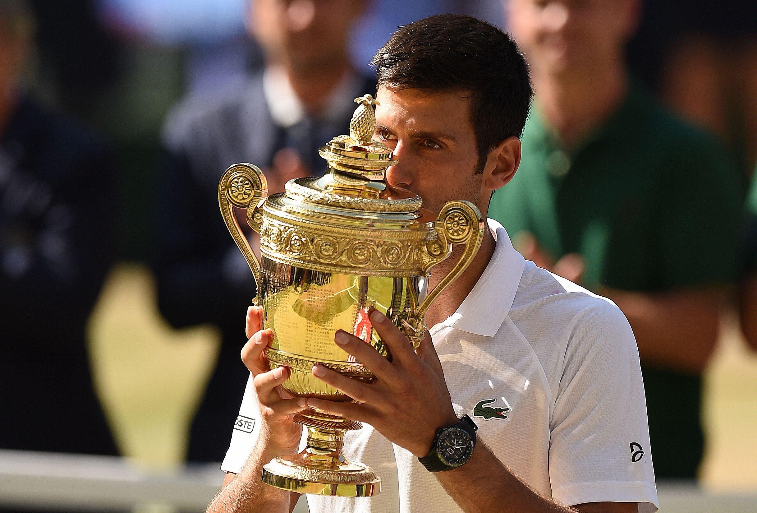 Deportes: Djokovic y Anderson definen el título de Wimbledon