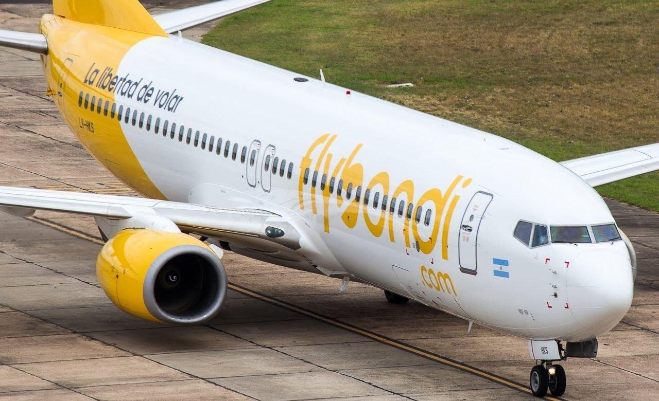 Masiva cancelación de vuelos de Flybondi