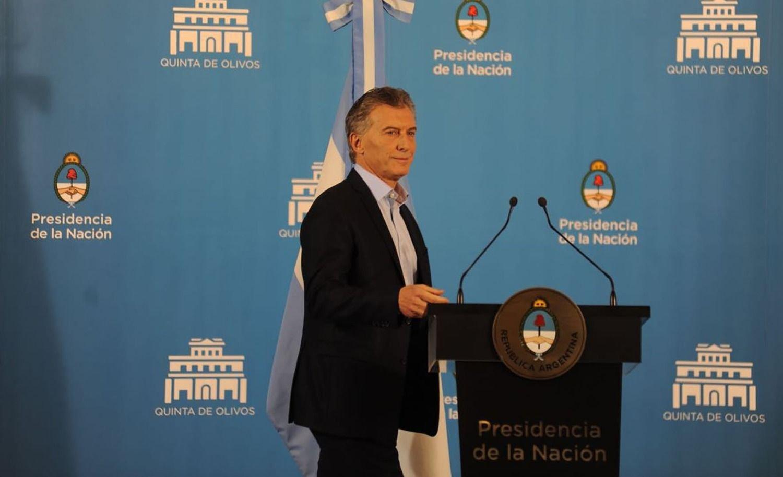 """Macri en conferencia: """"Estamos enfrentando una tormenta"""""""