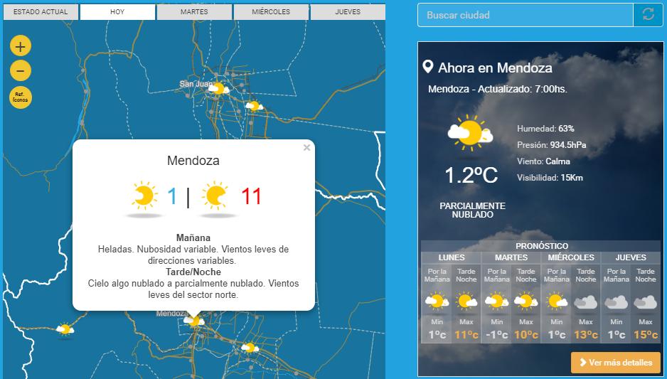 Actualidad: Cómo estará el tiempo este lunes en Tucumán