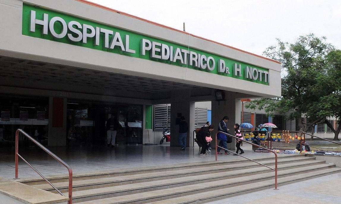 Un niño de siete años sufrió un accidente en moto y le amputaron un pie