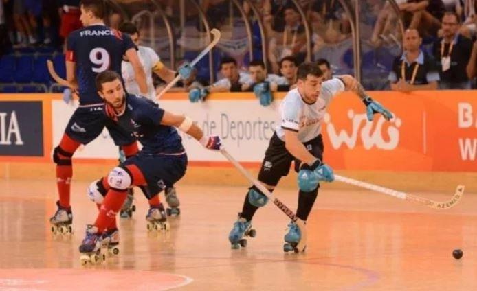 Hockey sobre patines Argentina World Roller Gammes Las Águilas