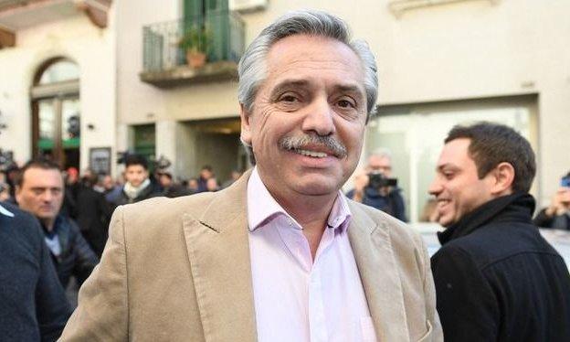 Alberto Fernández llevó su campaña electoral a Córdoba