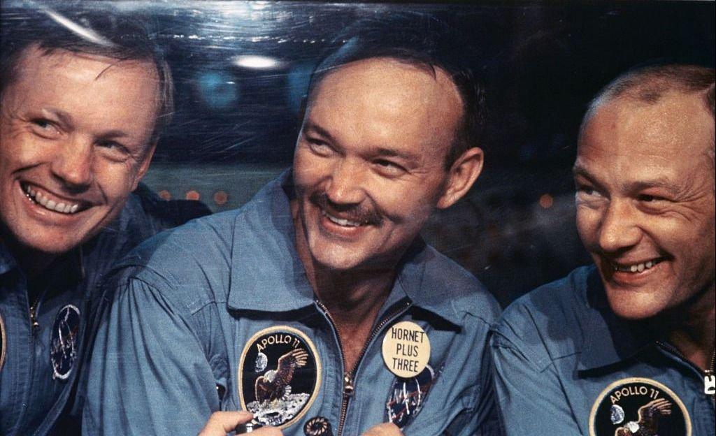 Los astronautas del Apolo 11