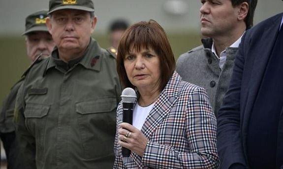 """Patricia Bullrich presentó un operativo con el nombre """"La casa de papel 3"""""""
