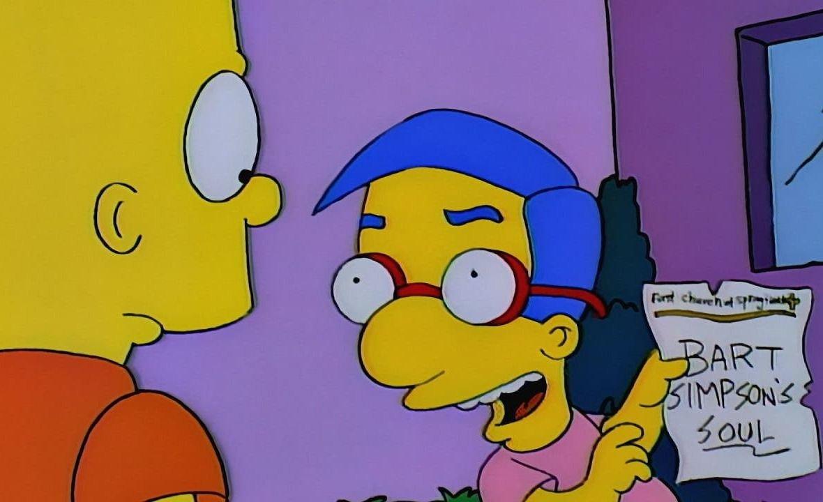 Se develó la oscura inspiración del nombre de Milhouse