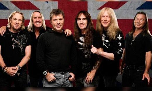 """Iron Maiden presentó su nueva canción: """"The writing on the Wall"""""""