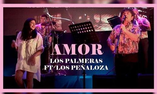 """Los Palmeras presentaron una reversión de la canción """"Amor"""""""