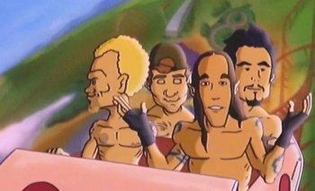 """Red Hot Chili Peppers y un tema de película """"Love Rollercoaster"""""""