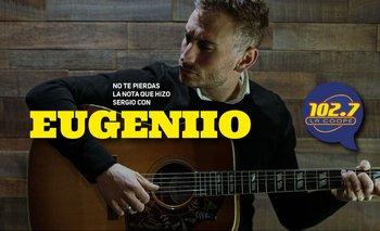 """ENTREVISTA   Eugeniio: """"No puedo dejar de hacer canciones"""""""