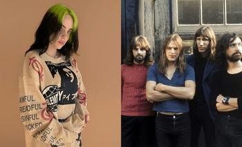TikTok: transformaron una canción de Billie Eilish en una de Pink Floyd