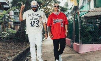 Eladio Carrión presentó su nuevo single junto a Daddy Yankee