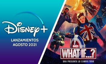 Diseny+ adelantó los estrenos de las pelis y series para agosto