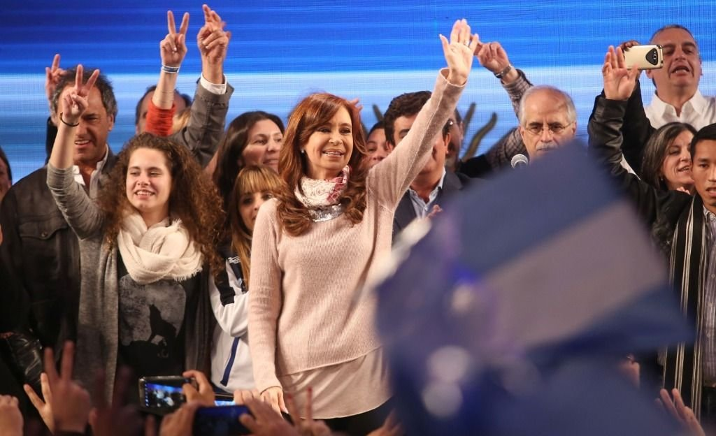 Cristina Kirchner relanza su campaña