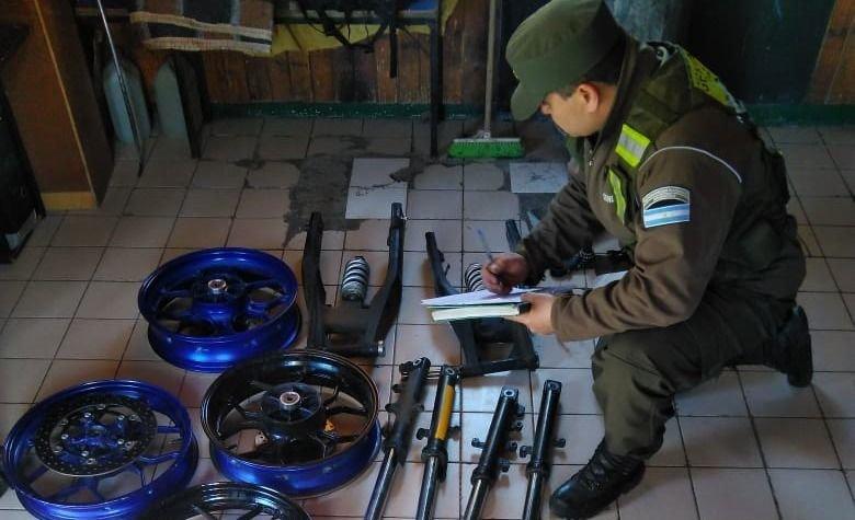 Control de Gendarmería nacional en Mendoza