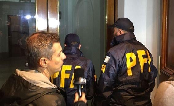 La Federal allanó el edificio donde vive Cristina Kirchner