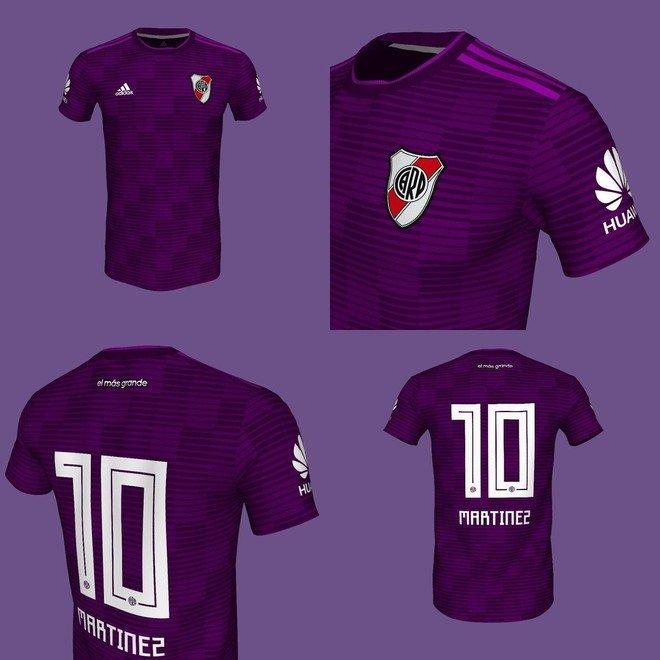 La primera vez que El Millonario usó el violeta en su camiseta 518608cbf6bf4