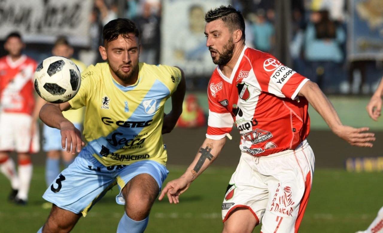 El Deportivo Maipú fue goleado por Temperley 4 a 0