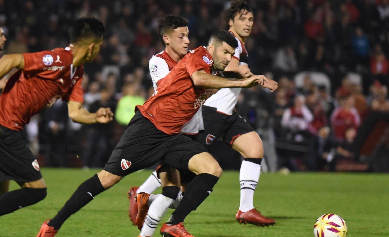 Newell´s e Independiente igualaron en Rosario 2 a 2