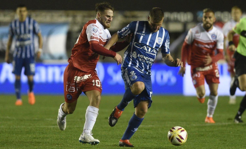 Godoy Cruz empató ante Argentinos Juniors en La Paternal 0 a 0