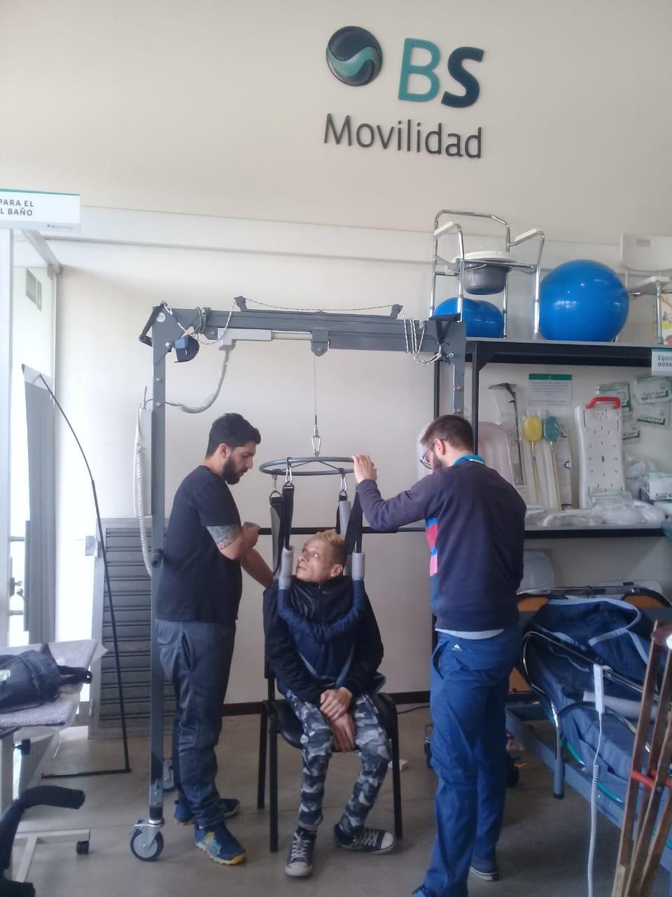 Marcelo Mastroiani BS Movilidad arnés baterista mendocino mariano fandiño