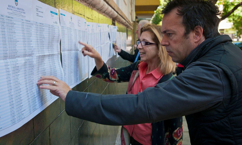 Padrón electoral: consultá dónde votás el domingo 27 de octubre