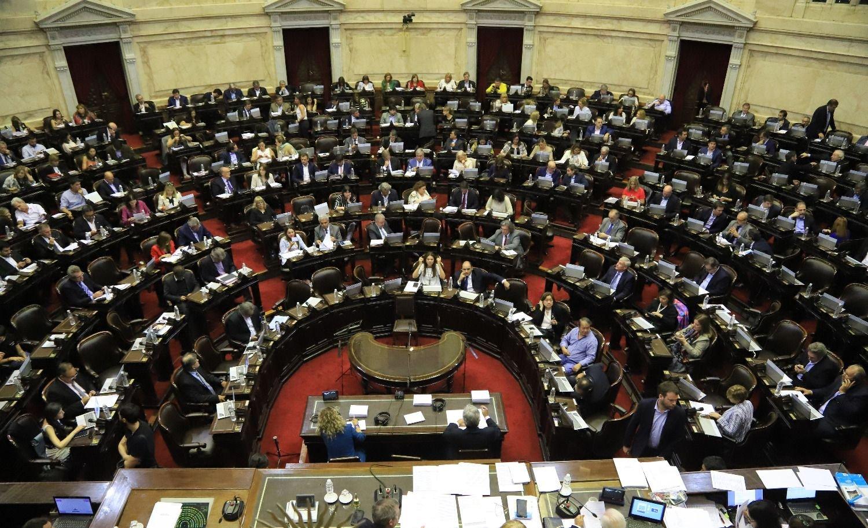 Congreso Emergencia económica Alberto Fernández Cámara de Diputados